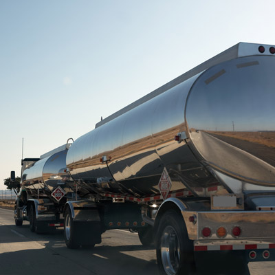 Truck Hauling Water